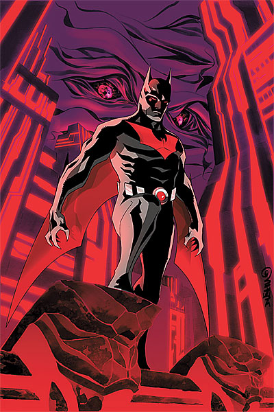 Batman Beyond Issue 1 of 6 Cover Art