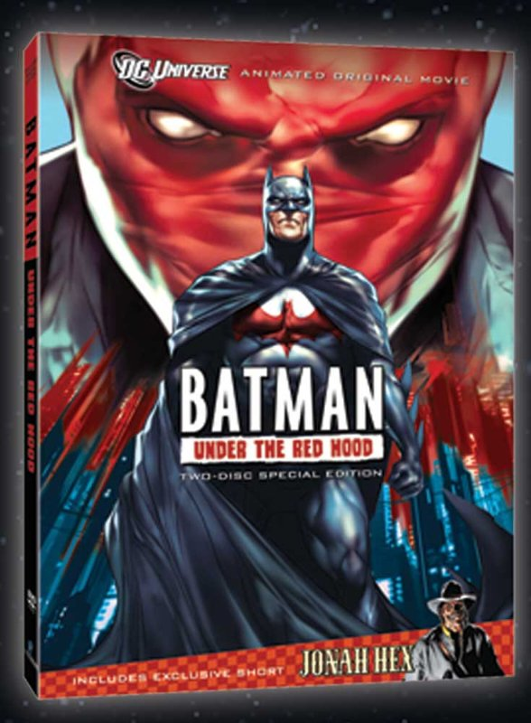 Batman Under the Red Hood DVD Cover Art