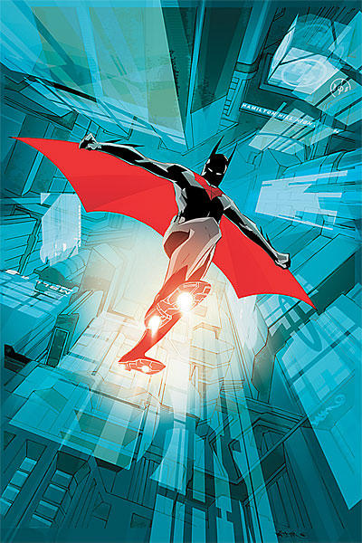 Batman Beyond Issue 2 cover Art