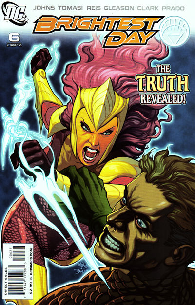 Brightest Day Issue 6 Cover Art Variant