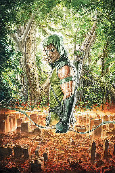 Green Arrow Issue 1 Cover ARt
