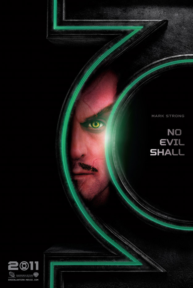 Sinestro Green Lantern Promo Poster