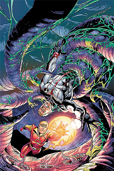 Legion of Super-Heroes Issue #3 Cover Art