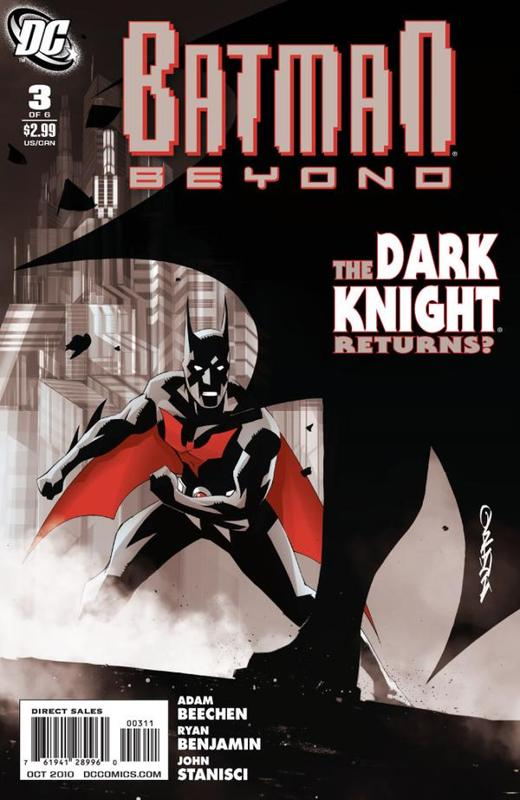 Batman Beyond Issue 3 Cover