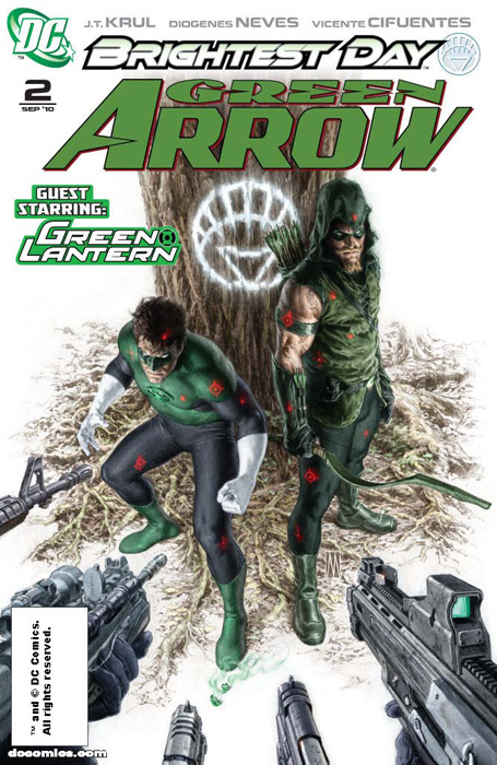 Green Arrow Issue 2 Cover Art