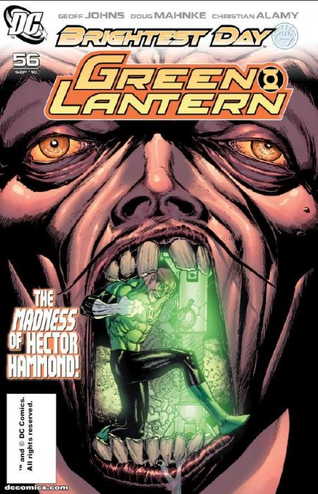 Green Lantern Issue 56 Cover