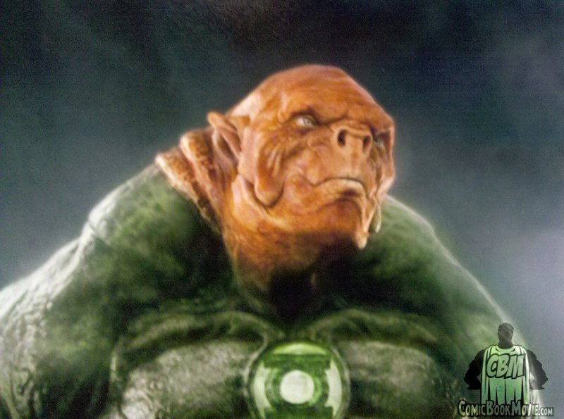 ComicBookMovie.com has the first look at Kilowog from the forthcoming Green Lantern Feature Film