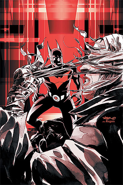 Batman Beyond Issue 4 Cover