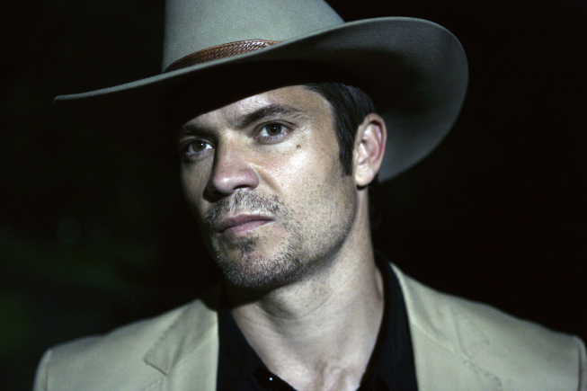 JUSTIFIED: Timothy Olyphant. CR: FX / SONY