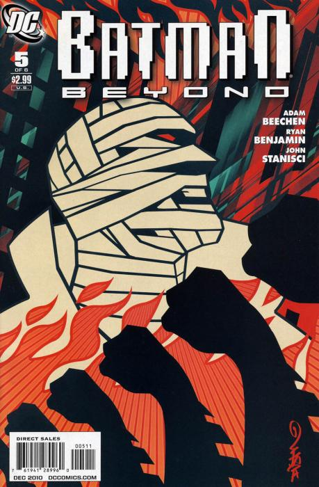 Batman Beyond Issue 5 Cover