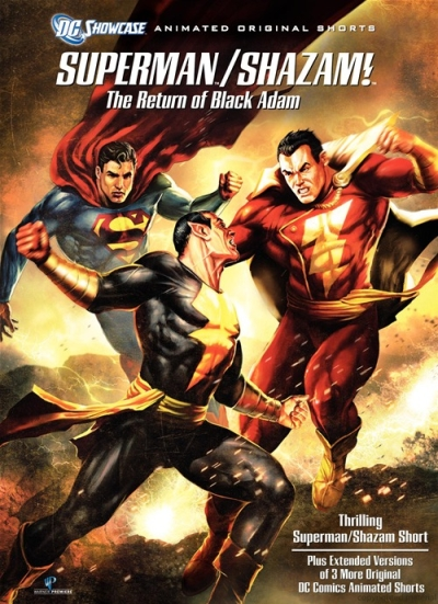 Superman/Shazam! The Return of Black Adam Cover
