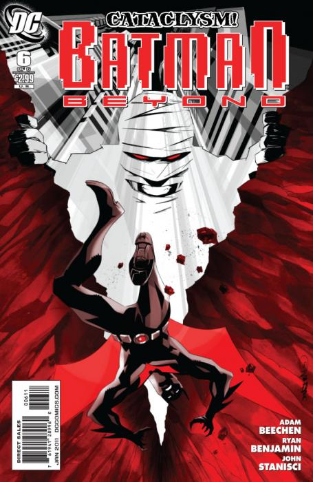 Batman Beyond Issue 6 Cover ARt
