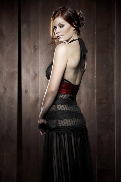 Cassidy Freeman Tess Mercer on Smallville