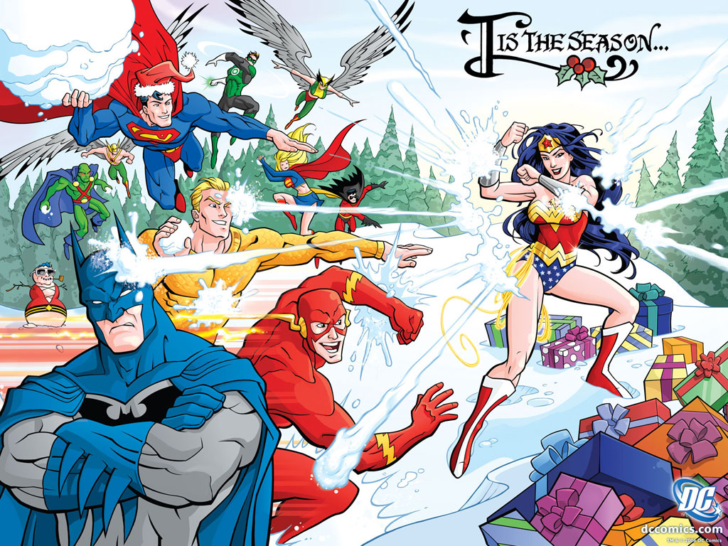 Happy Holidays from the JLA