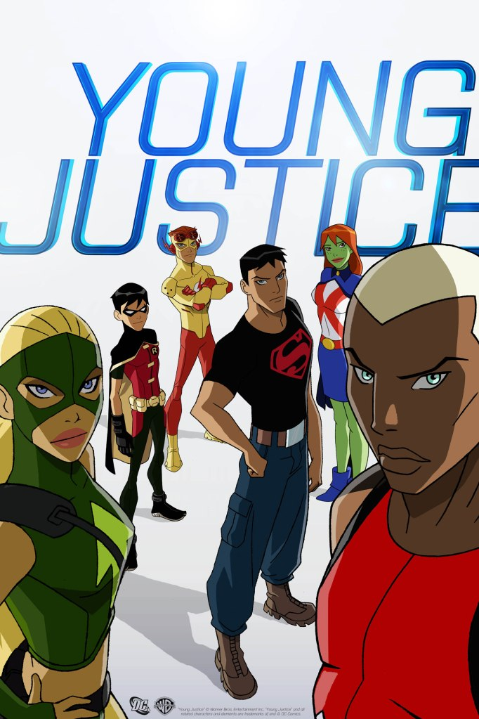 Young Justice Cartoon Network Poster