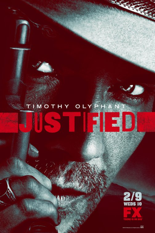 Justified Season 2 Promo Poster