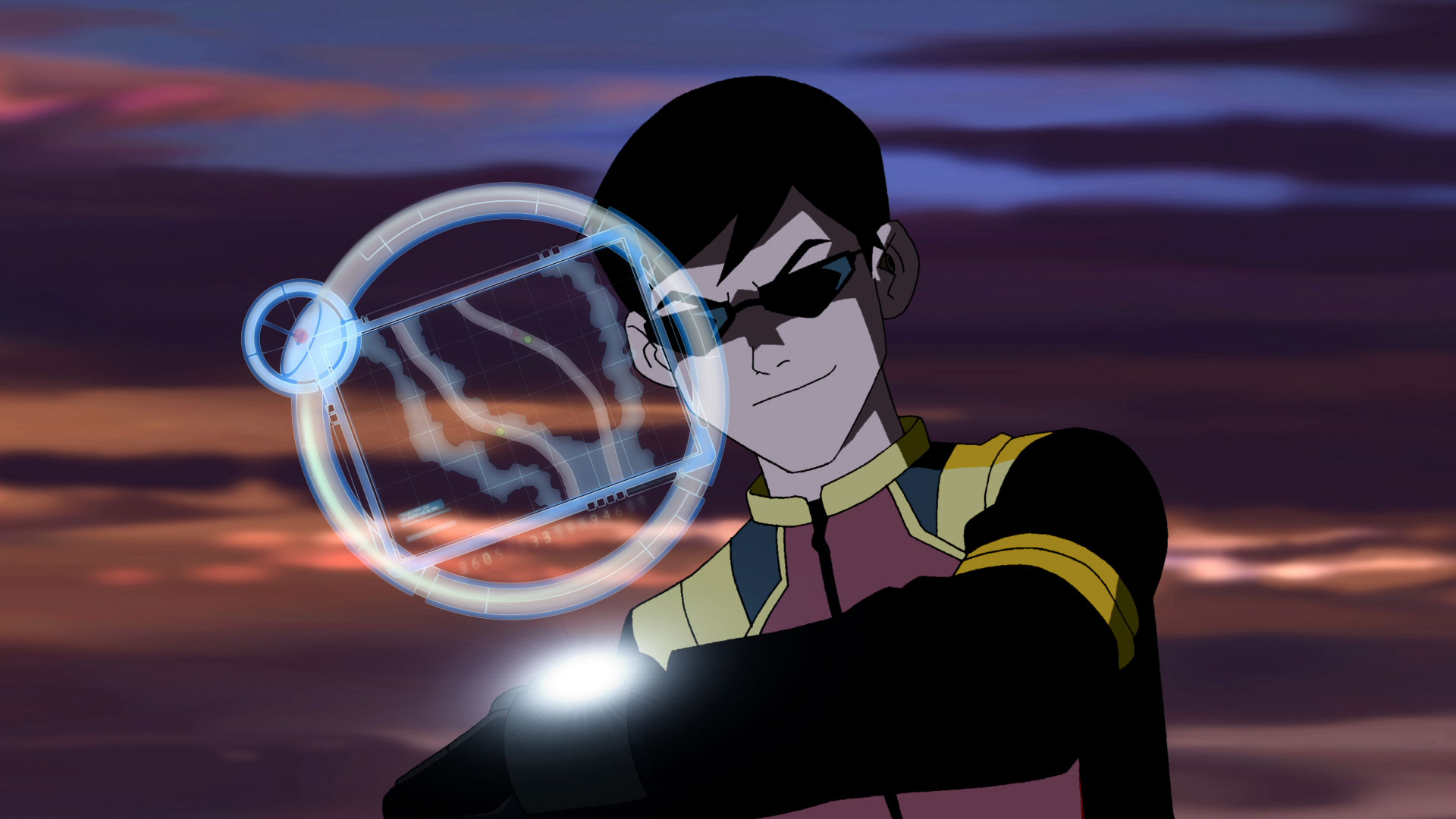 Young Justice Schooled Robin