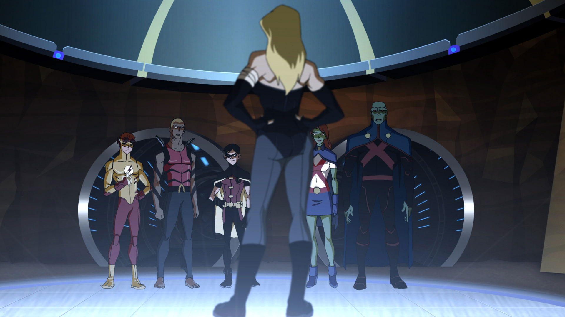 Young Justice Schooled Training