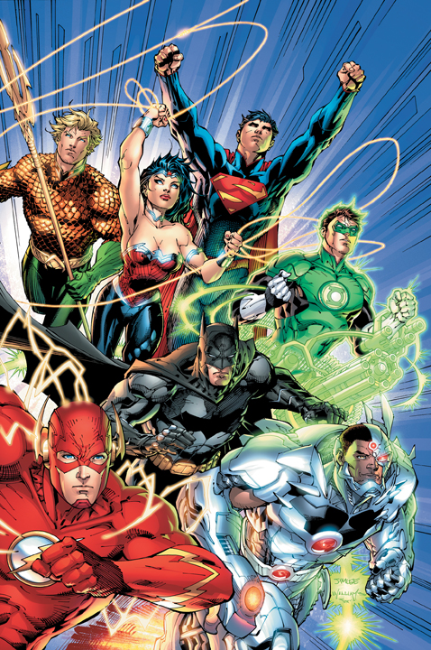 Justice League 1 Cover New Era