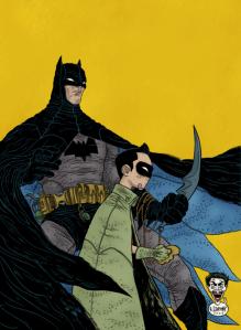 Grampas Batman Robin